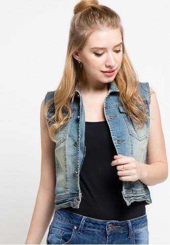 DocDenim blue Ladies Jillian Light Vest DO336AA71LSAID_1