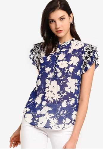 polo ralph lauren multi Short Sleeve Printed Viscose Shirt 5A149AAEE308E5GS_1