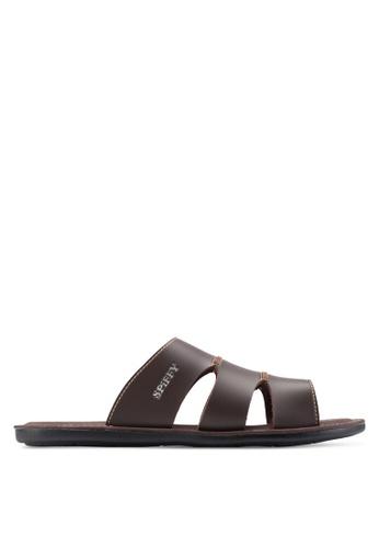 Spiffy brown Stylish Sandals SP352SH63IOYMY_1