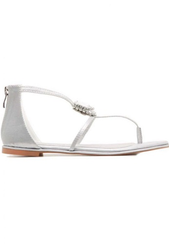 Deraine Shoes grey Deraine Basic Sandals (Grey) DE489SH88SRJMY_1