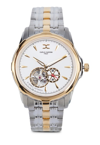 Carlo Cardini silver and gold Carlo Cardini 9002G-BIC-1 Watch CA038AC07UKYMY_1