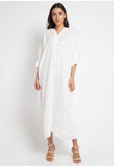 Contempo white Maxi Dress Family S/S 07262AA7C78257GS_1