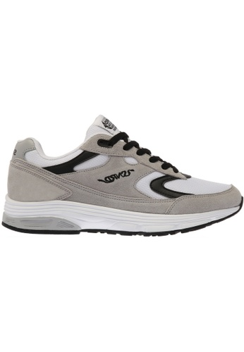 paperplanes grey SNRD-714 Unisex Fashion Curved Sports Sneakers Shoes US  Women Size PA355SH61PKGSG_1