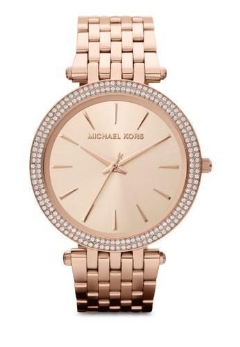 MICHAEL KORS gold Rose Gold/Rose-MICHAEL KORS Darci MK3192 MI165AC22MAFMY_1