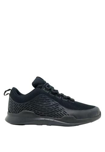 Precise black Precise Denzel M Sepatu Sneaker Pria - Hitam 1B1DBSH6BB5D30GS_1