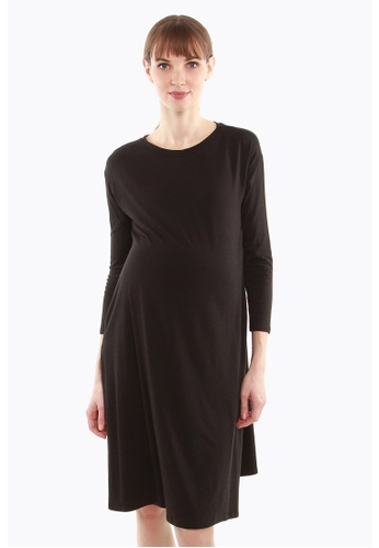 Bove by Spring Maternity black Dany Dress 8776DAAC9E8289GS_1