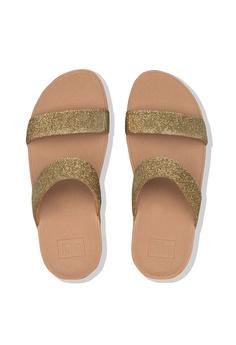 769bb700b Fitflop Fitflop Lottie Glitzy Slide (Artisan Gold) RM 399.00. Sizes 5 6 7 9