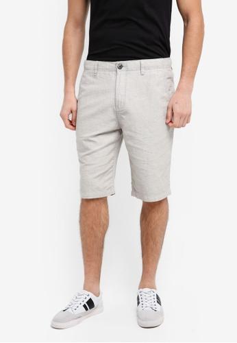 ESPRIT beige Woven Regular Shorts 09933AA7ED0DC4GS_1