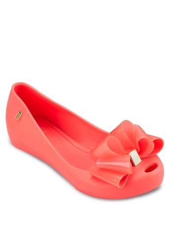 Ultesprit地址ragirl 少年立體蝴蝶結平底鞋, 鞋