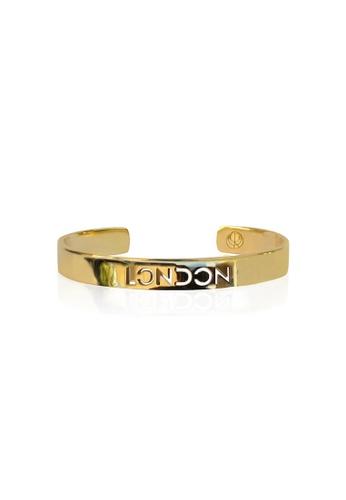 Cristina Ramella gold London City Bangle CR504AC75JDSHK_1