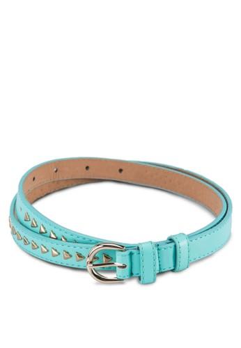 鉚釘zalora 手錶 評價細腰帶, 飾品配件, 飾品配件