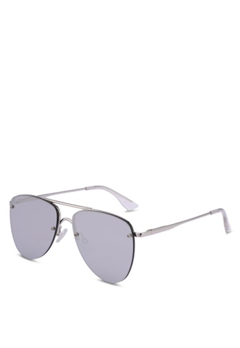 Le Specs silver The Prince 1602203 Sunglasses C5A5BGL12805F8GS_1