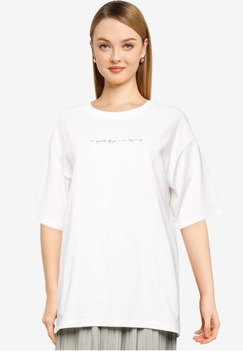 LOWRYS FARM white Oversized T-Shirt 77E57AA9185CE9GS_1