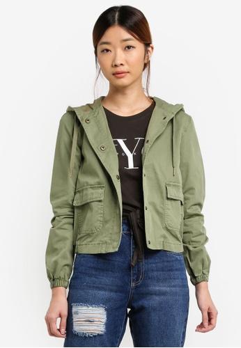 Buy Cotton On Cropped Weekender Jacket Online   ZALORA Malaysia