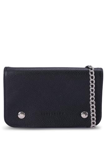 LONGCHAMP black Le Foulonné Long Flap Wallet (zt) 3C4A0ACCD3A758GS_1