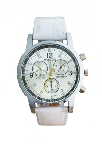 Stylebox white Stainless Watch with Sub Dial Design 1107 2A532ACDDD063BGS_1