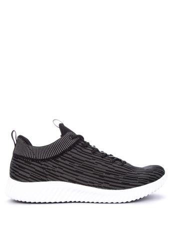 PEAK black E81357E Men's Casual Sports Sneakers C777FSHD0DE67BGS_1