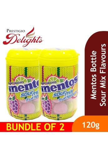 Prestigio Delights Mentos Bottle Sour Mix Flavours 120g Bundle of 2 19687ES1561949GS_1