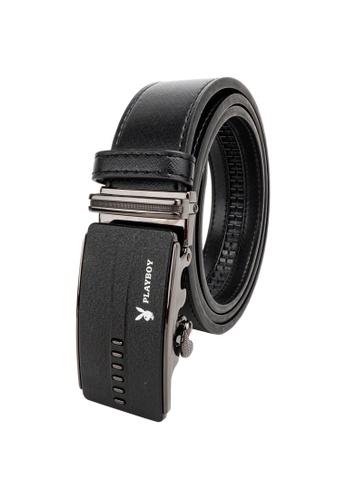 Playboy black 35mm Automatic Belt 262AAAC13F098AGS_1