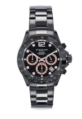 Stuhrling Original black Aquadiver 3961 9C2B2ACC456160GS_1