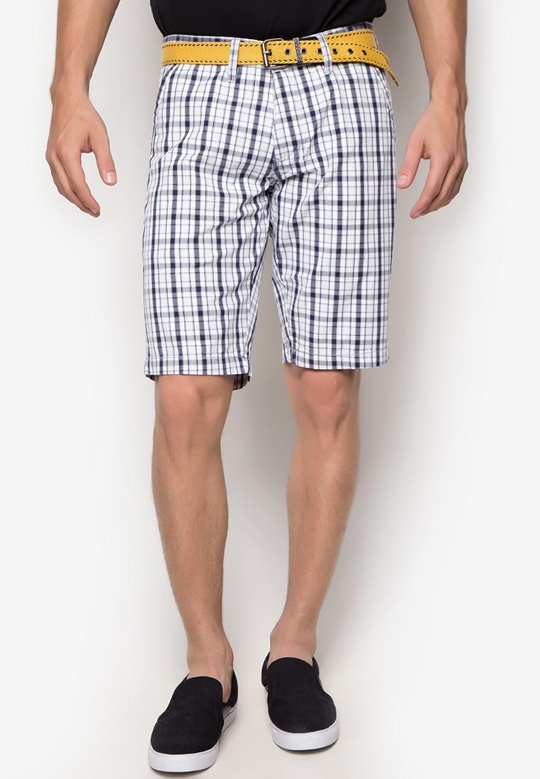 Ashton Low Rise Slim Tapered Crew Shorts