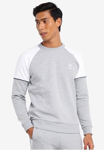 Hummel grey Hummel Layton Sweatshirt 4908BAA968D11CGS_1