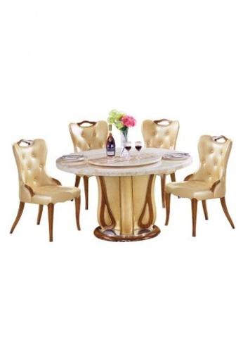 Choice Furniture brown Choice Furniture - Dalton Dining Set C829EHL046AC68GS_1