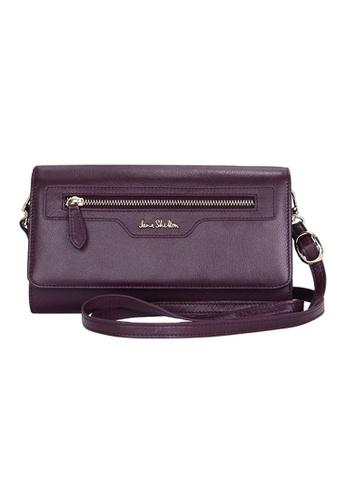 Jane Shilton purple Jane Shilton Evergreen Long Wallet JA903AC0H9TKSG_1