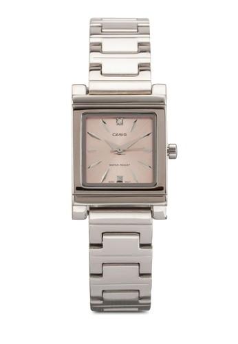 Casio Enticer 不銹鋼女性手錶