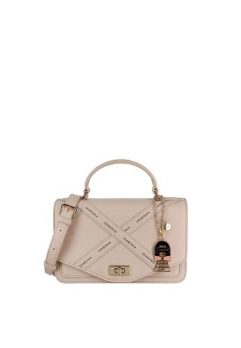 SEMBONIA beige Signature Work Bags 37468AC432D785GS_1