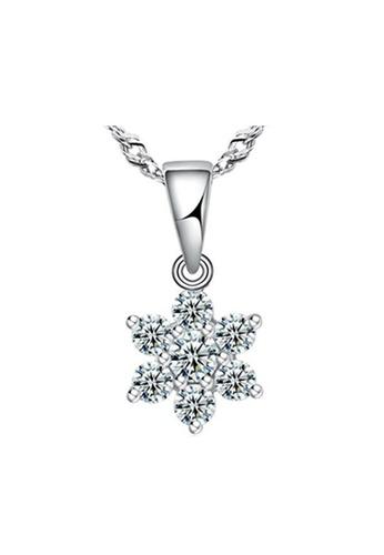 Elfi silver Elfi Genuine 925 Sterling Silver Necklace Pendant SP78 EL186AC0RWDCMY_1