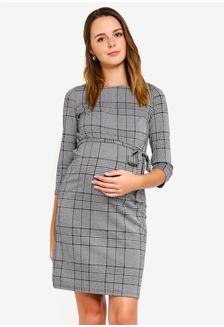 5ca5b37060728 Maternity Nataly 3 4 Mini Dress 270FEAA9283420GS 1