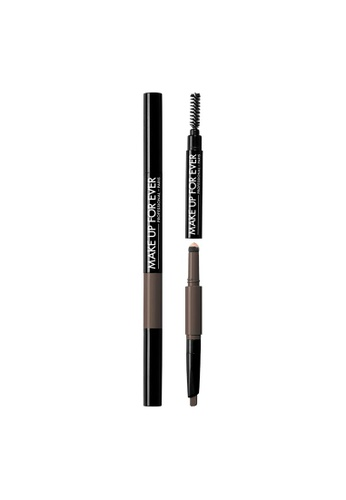 MAKE UP FOR EVER brown PRO SCULPTING BROW - 3-in-1 Brow Sculpting Pen 0.6G #40 074C8BEC339E00GS_1