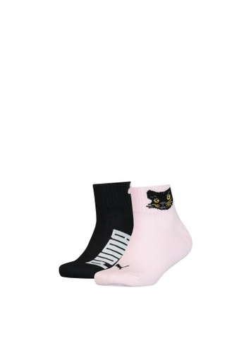 PUMA pink PUMA Kids' 2 Pack Quarter Socks 72C4CAA07DC271GS_1