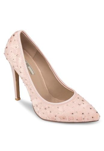 BASIC zalora taiwan 時尚購物網HEEL PUMP, 女鞋, 鞋