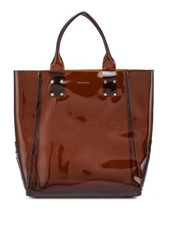 Milliot & Co. 褐色 Jenny Tote Bag 626C4AC352633DGS_1