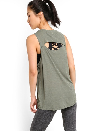 Cotton On Body green Textured Tank Top AD9CAAAA4CF4A1GS_1