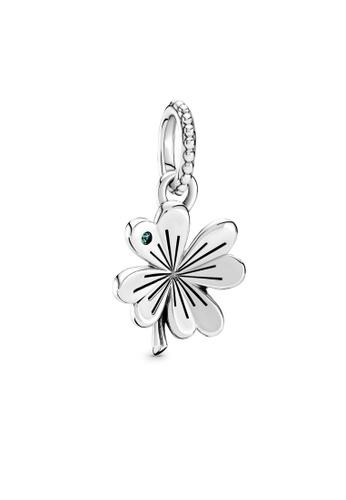 Pandora silver Lucky Four-Leaf Clover Pendant 61AD9AC6E8DF54GS_1