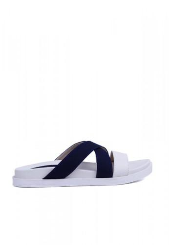 MINKA ALP Aska05 Navy Sandal