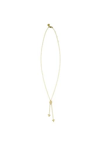 Sara Miller gold Sara Miller - Leaf Charm Necklace - Gold (SAJ2012) D3920ACC8368E7GS_1