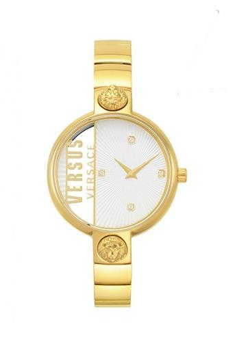 Versus gold Versus Versace Rue Denoyez Gold Metal Women Watch ABE31AC94BD0B3GS_1