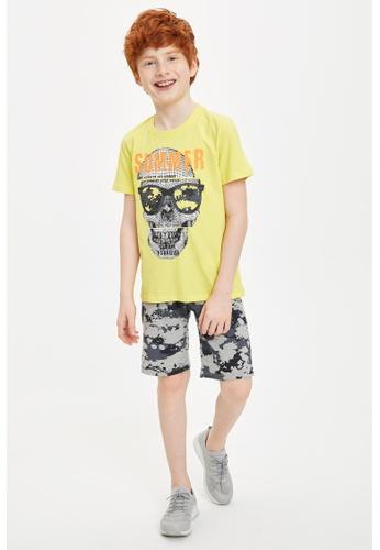 DeFacto yellow Boy Knitted Set B9AEBKA59A5B74GS_1