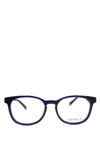 Tersedia warna lain. ESPRIT blue Esprit Frame Kacamata - round - 14198 - 52  - biru ES347GL0U57DID 1 dd49461322