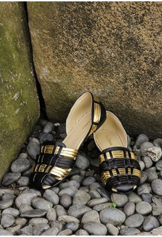 Selma Gladiator Sandals Black