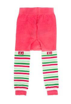 Infants Leggings with Apple & Stripes