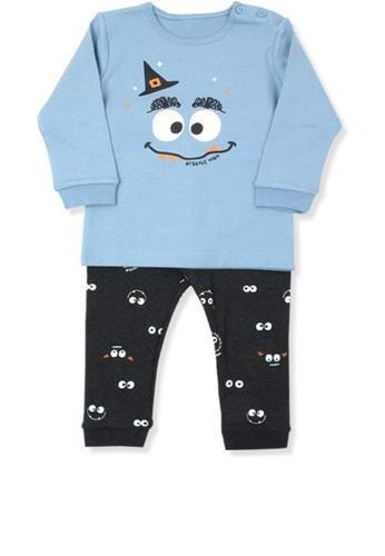 Organic mom blue Boys Autumn-Winter Halloween Home-wear Pajamas 2E9C5KAD7C746FGS_1