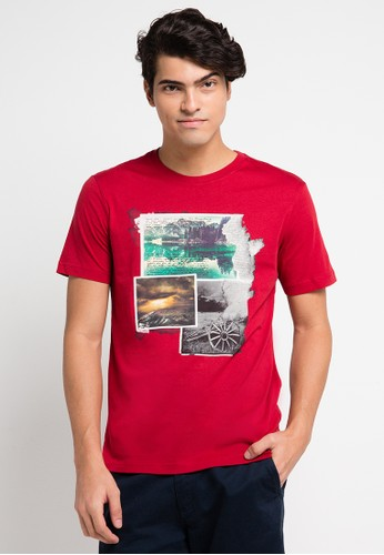 Country Fiesta red Men'S Tshirt Fashion CO129AA0URAOID_1