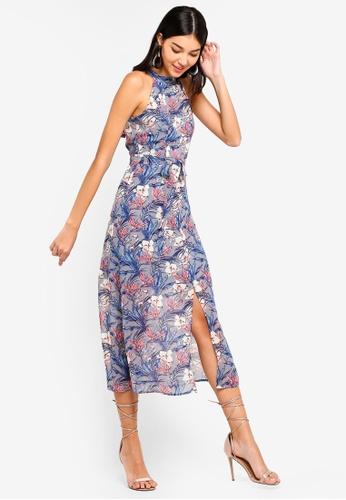 Shop ZALORA Cut In Maxi Dress Online on ZALORA Philippines 43544f33f