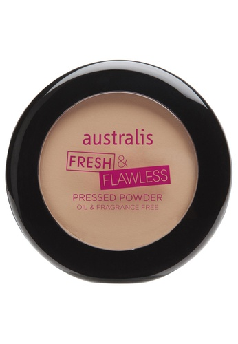 Australis brown Australis Fresh n Flawless Pressed Powder Darkest Brown AU782BE78DGNSG_1