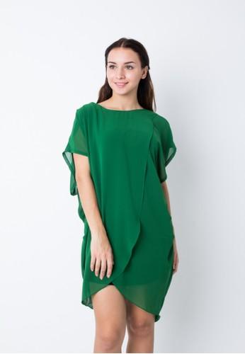 Chantilly green Maternity/Nursing Dress Calista 53003 CH841AA34LRDID_1